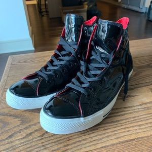 Converse All-Star Patent Leather High Tops